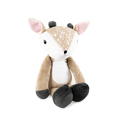 Little Adventures Adventure Pals Soft Plush Minky Stuffed Animal Toys (Felicity Fawn): Toys & Games