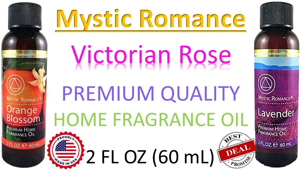 Mystic romance Victorian Rose Premium Home Fragrance Oil 2 Fl.oz.