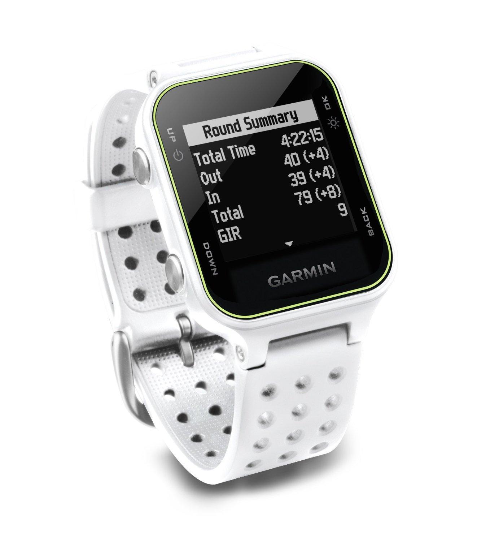 Garmin Approach S20 Golf Watch - White (Certified Refurbished)