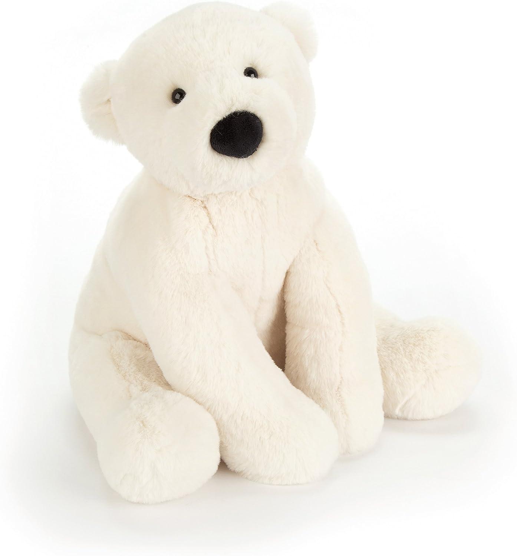 Jellycat Perry Polar Bear Stuffed Animal, Medium, 10 inches