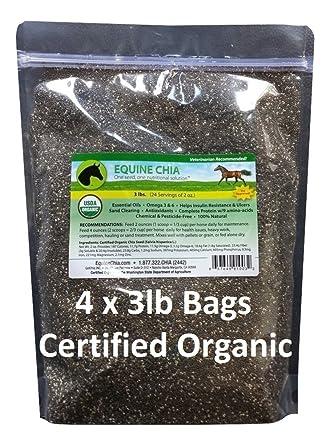 Equine Chía marca – certificado orgánico Semillas de Chía en ...