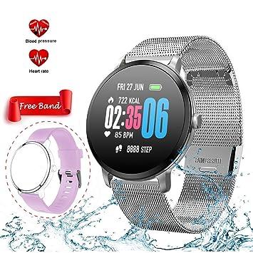 LIJJY Pulsera Actividad Smartwatch Inteligente Reloj ...