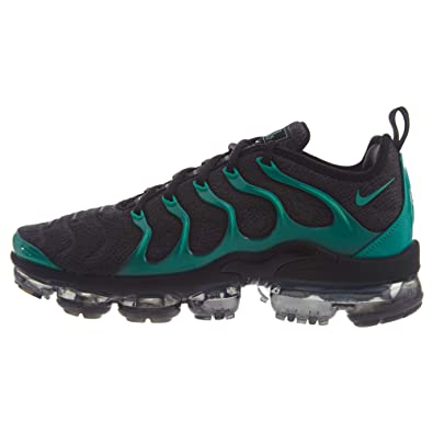 c669db4f2e Nike Men's Air Vapormax Plus Fitness Shoes, Multicolour (Black/Clear  Emerald/Cool
