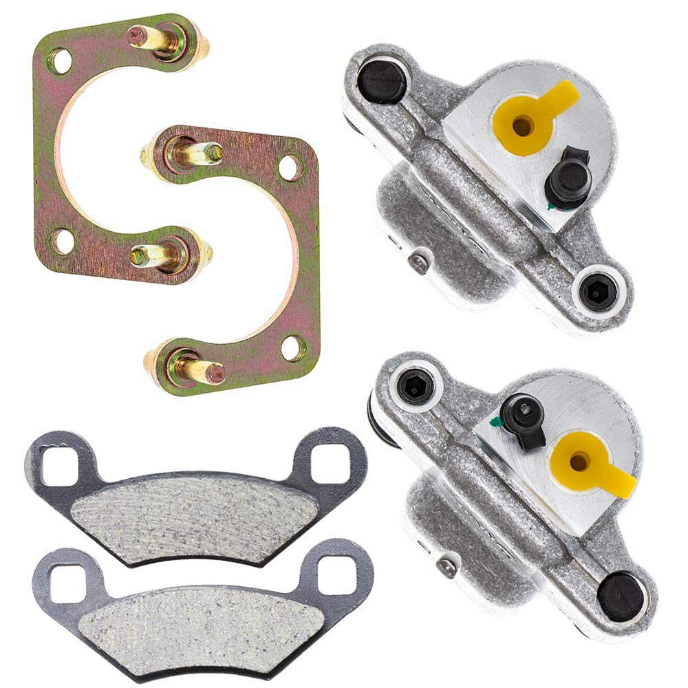 NICHE Rear Left Right Brake Caliper Pad Set For 2012-2019 Polaris Ace RZR 500 570 1911715 1911716