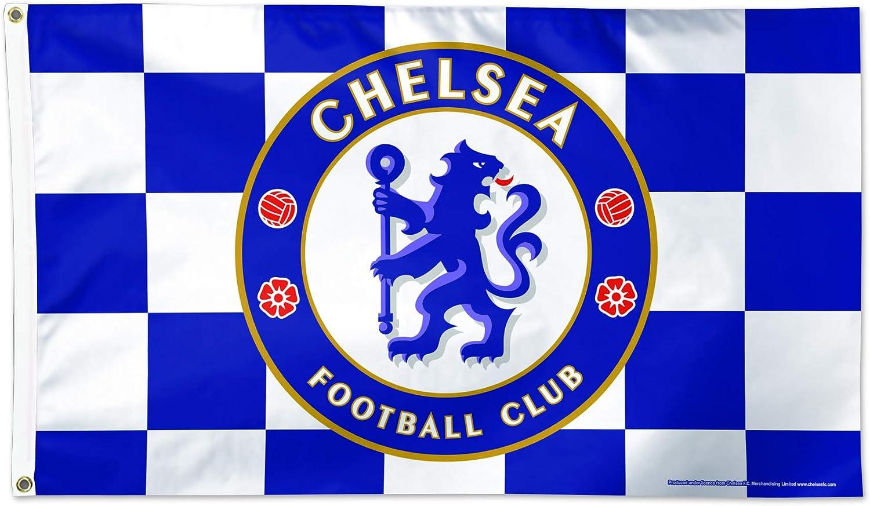 Chelsea F.C WinCraft Chelsea F.C Flag 3x5 Checkered Flag 3x5