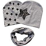 patgoal Baby berretto o-ring sciarpa ragazze bambini bambino sciarpa cappelli cappelli