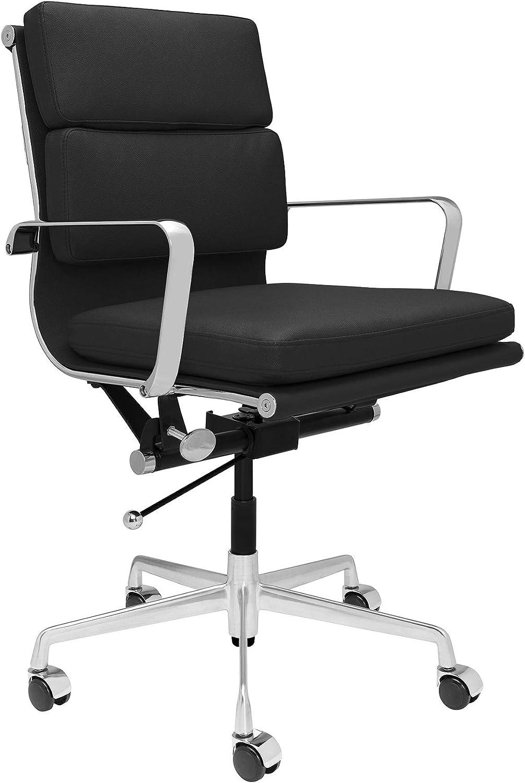 SOHO Soft Pad Management Chair (Black)