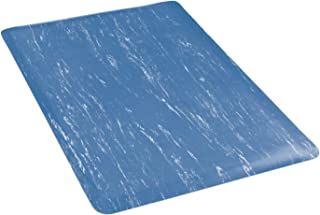 product image for Apache Mills Marbleized Top Mat, 24 x 720, Blue