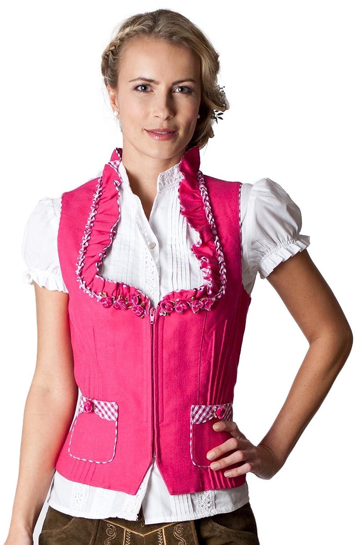 Ludwig und Therese Damen Trachten Mieder Millie pink D090014