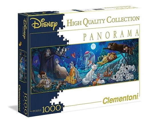 136 opinioni per Clementoni 39245- Puzzle Panorama disney-Sweet Night, 1000 pezzi