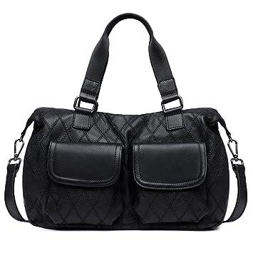 018e21f5f5c7 Amazon.com: ZOOLER GLOBAL Genuine Leather Handbags for Women ...