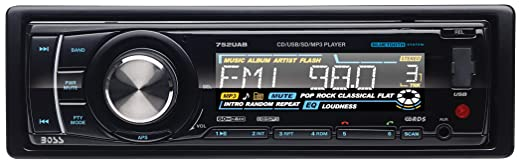 Review BOSS AUDIO 752UAB Single-DIN