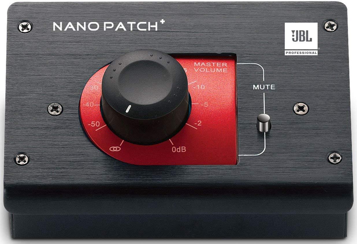 JBL NPATCH BLK Nano Patch+ Compact 2-Channel Passive Volume Controller (Renewed)