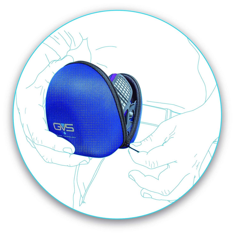 One Size Blue GVS Filter Technology SPM007 Elipse Integra Hard Carry Case