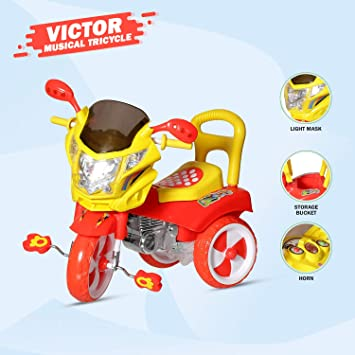 Dash Stylish Kids Tricycle , tricycles , Kids Cycle , Ride on for boy and Girl for 2 to 5 Years with…