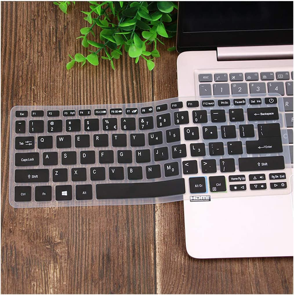 for Acer Swift Sf113 S5 371 Sf514 Sf5 Swift 5 Swift 3 Aspire S13 14 Sf314 Spin 5 13.3 Laptop Keyboard Cover Skin Protector,Black