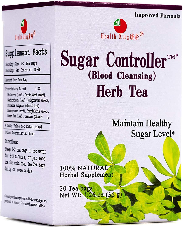 Health King Sugar Controller Herb Tea For Diabetes