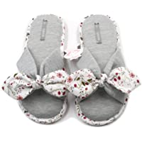 Millffy New Season Summer Floral Sweet Memory Foam Slipper Japanese Flowers Ladies Cotton Slippers Shoes