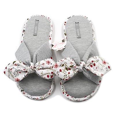 435139d07ad Millffy New Season Summer Floral Sweet Memory Foam Slipper Japanese Flowers  Ladies Cotton Slippers Shoes (