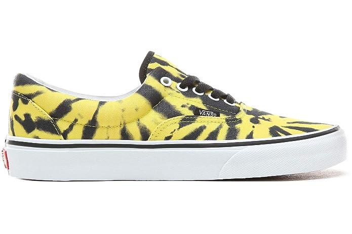 Vans Era Sneakers Gelb/Schwarz Damen Herren Unisex