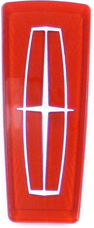 98 99 00 01 02 Lincoln Continental Front Grille Hood Emblem Badge Logo Ornament