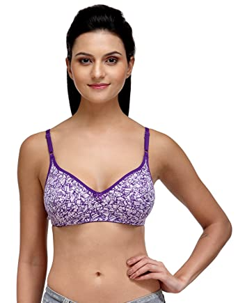 29482426176af Fashigo Womens Non Padded Purple Push-up Bra  Amazon.in  Clothing    Accessories