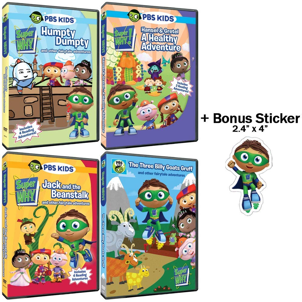 Amazon com: Super Why!: TV Series - The Fairytale Collection