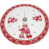 Queta Falda del árbol de Navidad, decoración