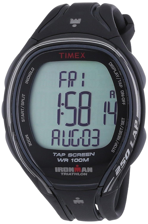 Timex Ironman Sleek 250 - Reloj deportivo para hombres, correa de resina, color negro: Amazon.es: Relojes