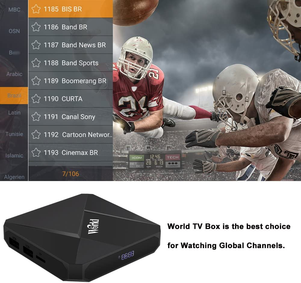 Networking Products Electronics Europe Android TV Receiver 1600+ ...