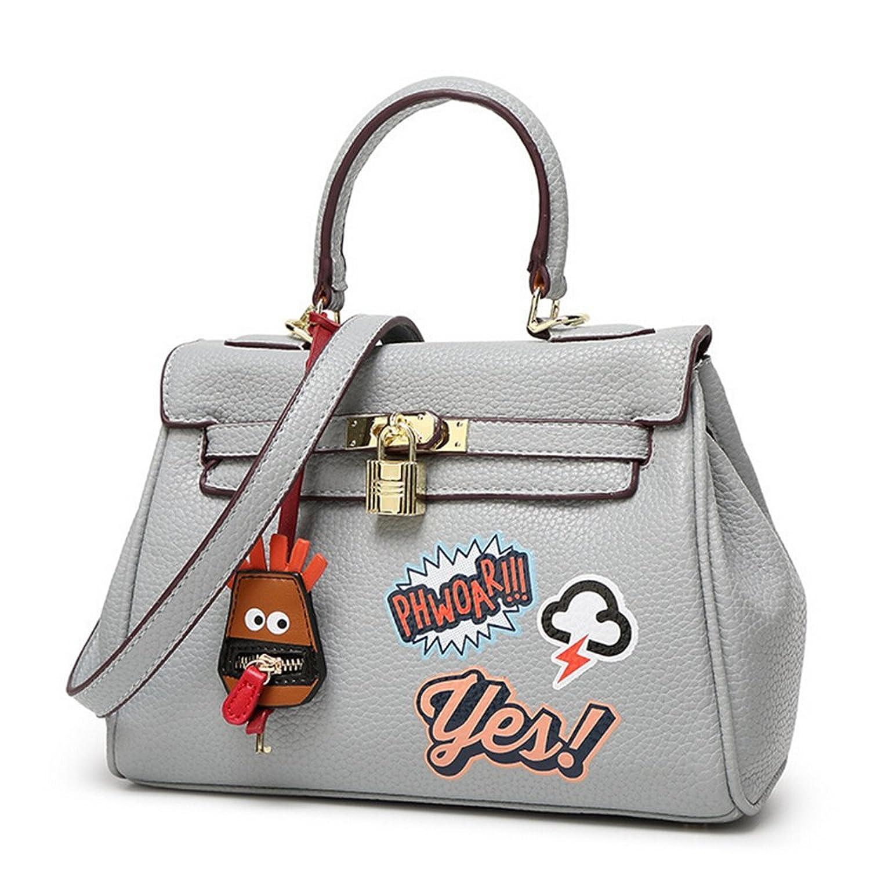 Kaichen The new fashion litchi pattern female package platinum package shoulder bag diagonal package wild handbag commute