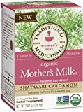 Traditional Medicinals Organic Mother's Milk Shatavari Cardamom Tea, 16 Tea Bags