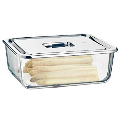 Glass Food Storage Containers With Stainless Steel Lids Uk Best