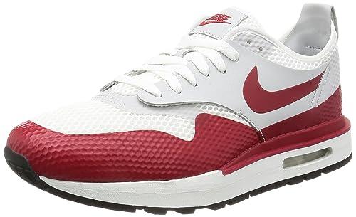 sale retailer f00f3 fd545 Nike Mens Air Max 1 Royal Gymnastics Shoes, White (WhiteGym Red-