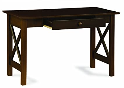 Amazon.com: Atlantic Furniture Lexi Writing Desk, Antique Walnut: Kitchen &  Dining - Amazon.com: Atlantic Furniture Lexi Writing Desk, Antique Walnut