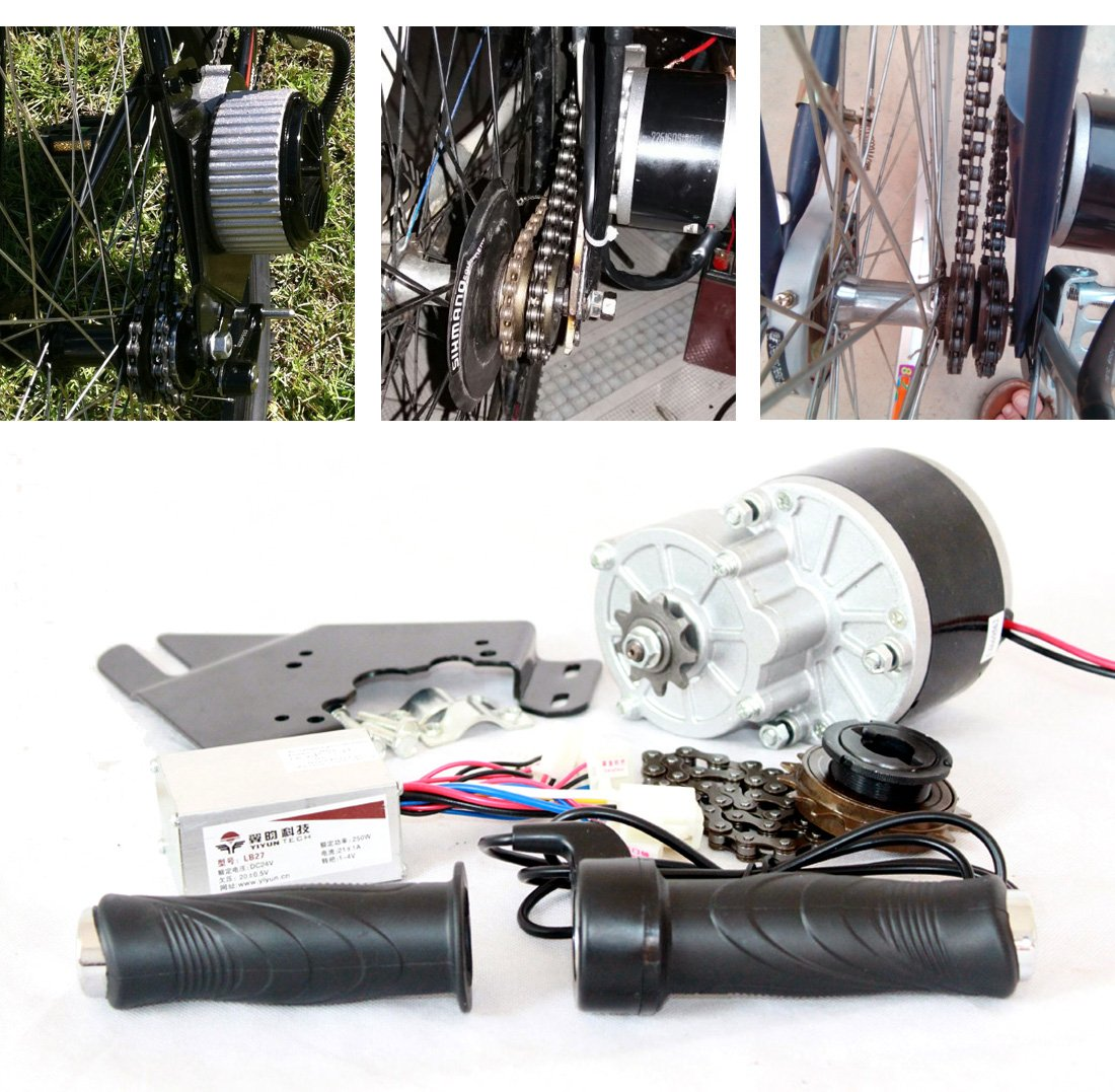24v 250w Electric Bicycle Motor Kit E Bike Conversion Online Buy Wholesale Motorcycle Wiring Harness From China Simple Diy Ebike Homemade Cool Change Modified Sports