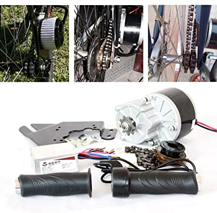 Amazon 24v 250w electric bicycle motor kit e bike conversion 24v 250w electric bicycle motor kit e bike conversion kit simple diy ebike motor homemade solutioingenieria Gallery