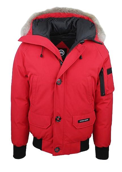502d89836d Canada Goose Parka uomo Original rosso giaccone giacca invernale ...