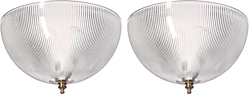 Westinghouse Dome Clear Acrylic Lamp Shade 1 pk