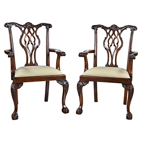 Amazon.com: Niagara Furniture NDRAC060 - Juego de 2 sillas ...