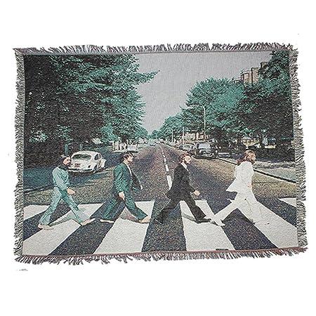 Peel Forest Beatles Woven Tapestry Wall Hangings Throw Blanket Rug Enchanting Beatles Throw Blanket