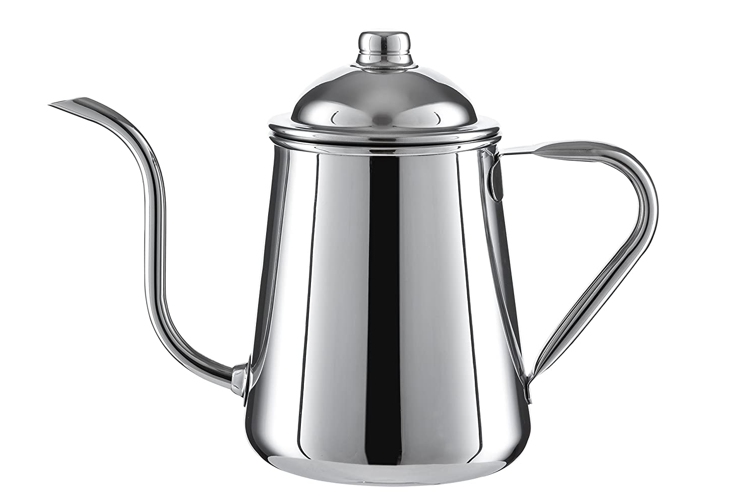 Pour Over Drip Kettle Stainless Steel With Precision Gooseneck spout for amazing water flow control. Ideal for pour over coffee and tea - 0.9L capacity Olive Kube COMINHKPR121421