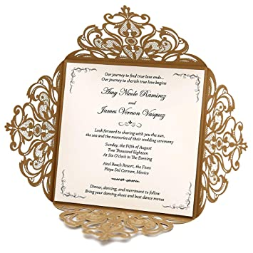 amazon com doris home wedding invitations wedding invites
