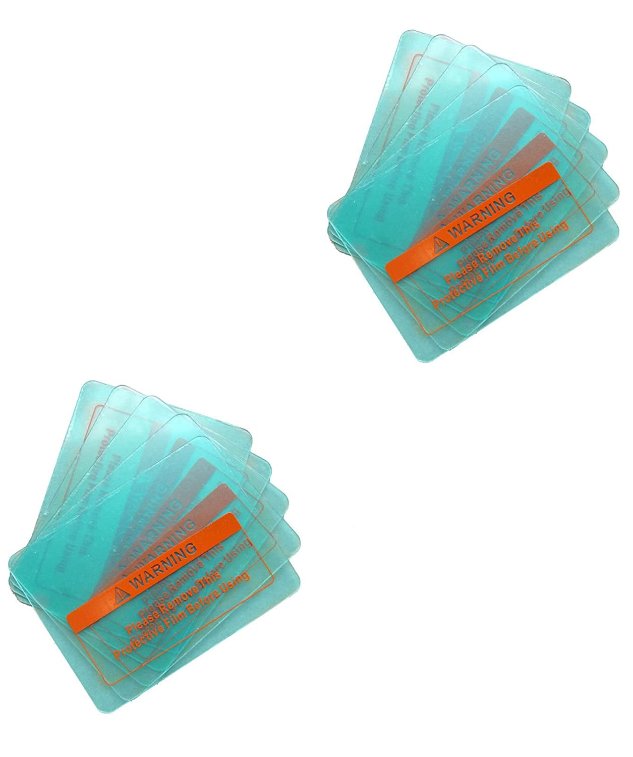10 X PC Transparent//Clear Welding Helmet Cover Lens Protection Plate 4 Size