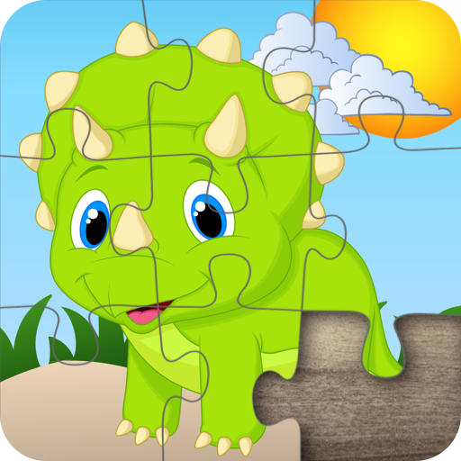 - Dinosaur Jigsaw Puzzles for Kids - Fun and Educational Dinos Puzzle Game for Preschool Toddlers, Boys and Girls Ages 2, 3, 4, 5 Years Old
