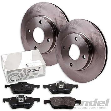 ATE Bremsscheiben 280mm belüftet mit Bremsbeläge und Warnkontakt VORNE für Mini