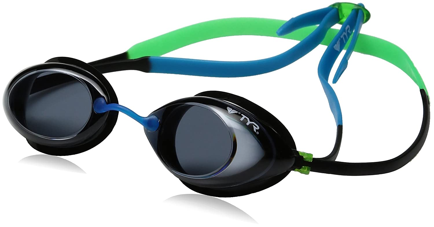 eeb5f8d95de Amazon.com   TYR Tracer Junior Racing Goggle   Swimming Goggles   Sports    Outdoors