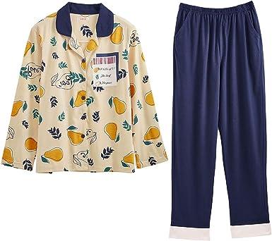 Conjunto de pijama para niñas grandes con botones para niños ...
