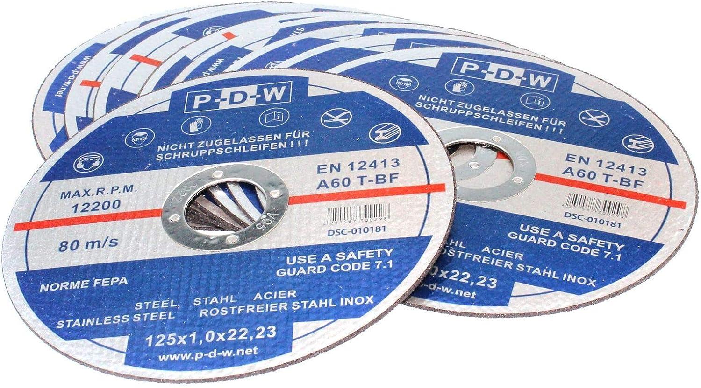 10 Stück Flex-Scheiben Toroflex FAVORIT Inox F41 Trennscheibe für Metall