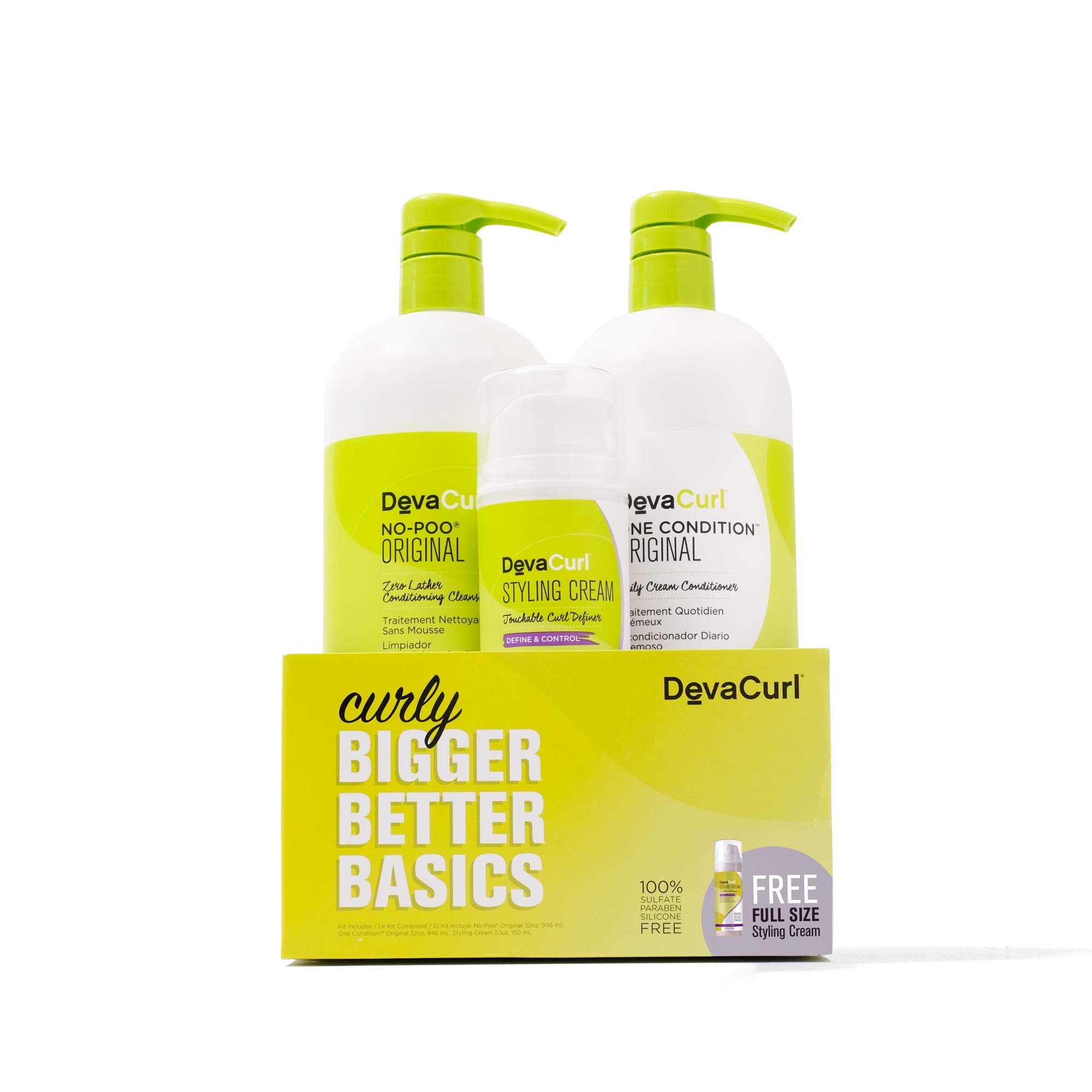 DevaCurl Bigger Better Basics - Curly Care Kit by DevaCurl